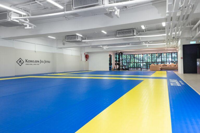Kowloon Jiu Jitsu Hong Kong - Mat Area