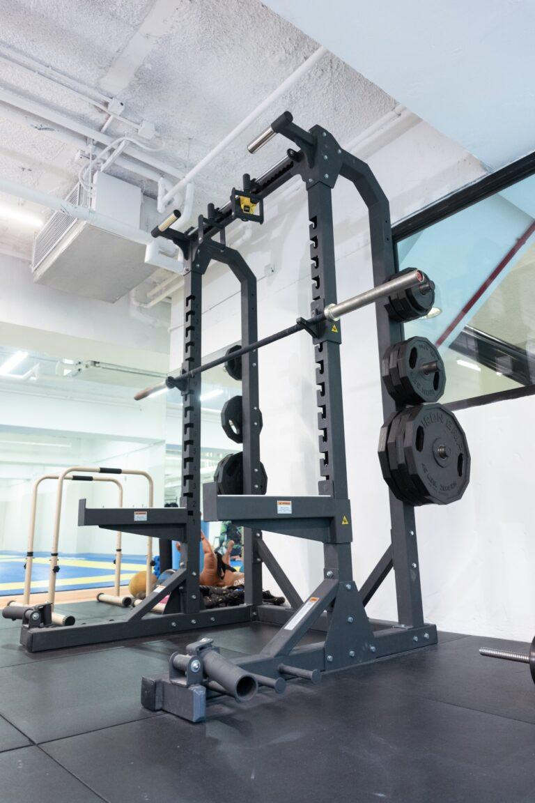 Kowloon Jiu Jitsu Hong Kong - Weight Training Area