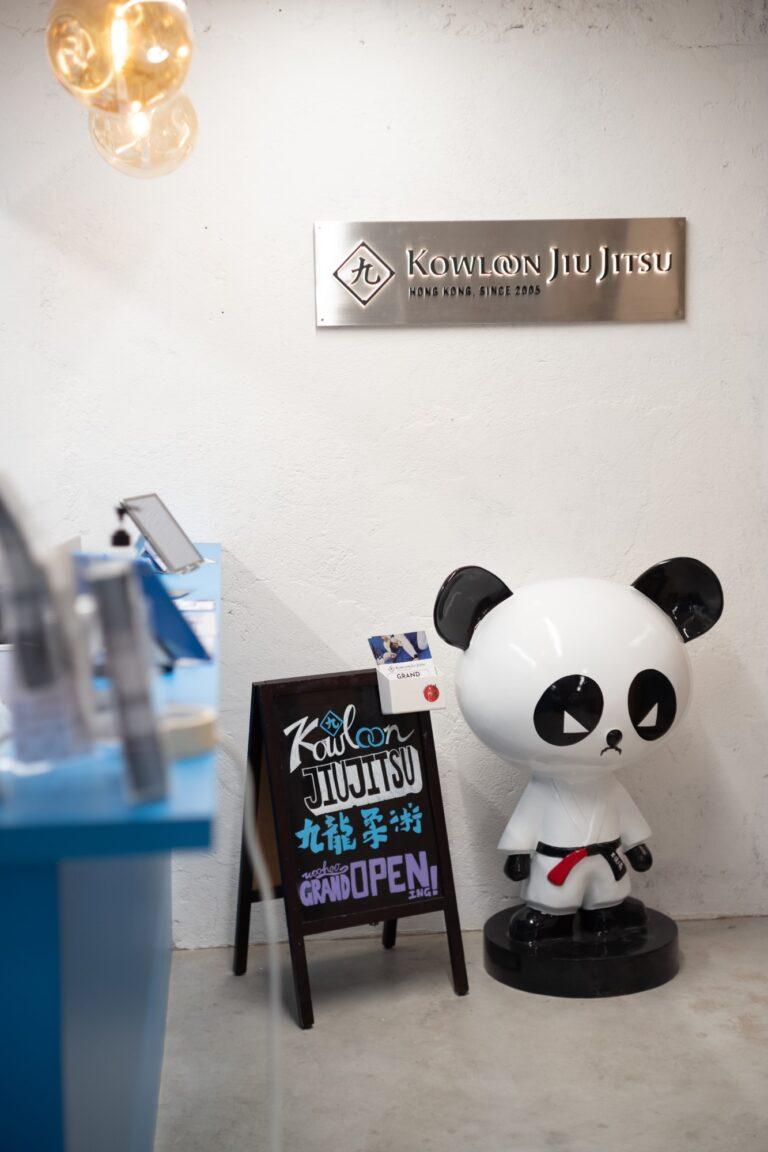 Kowloon Jiu Jitsu Hong Kong - Reception and Elevator Area