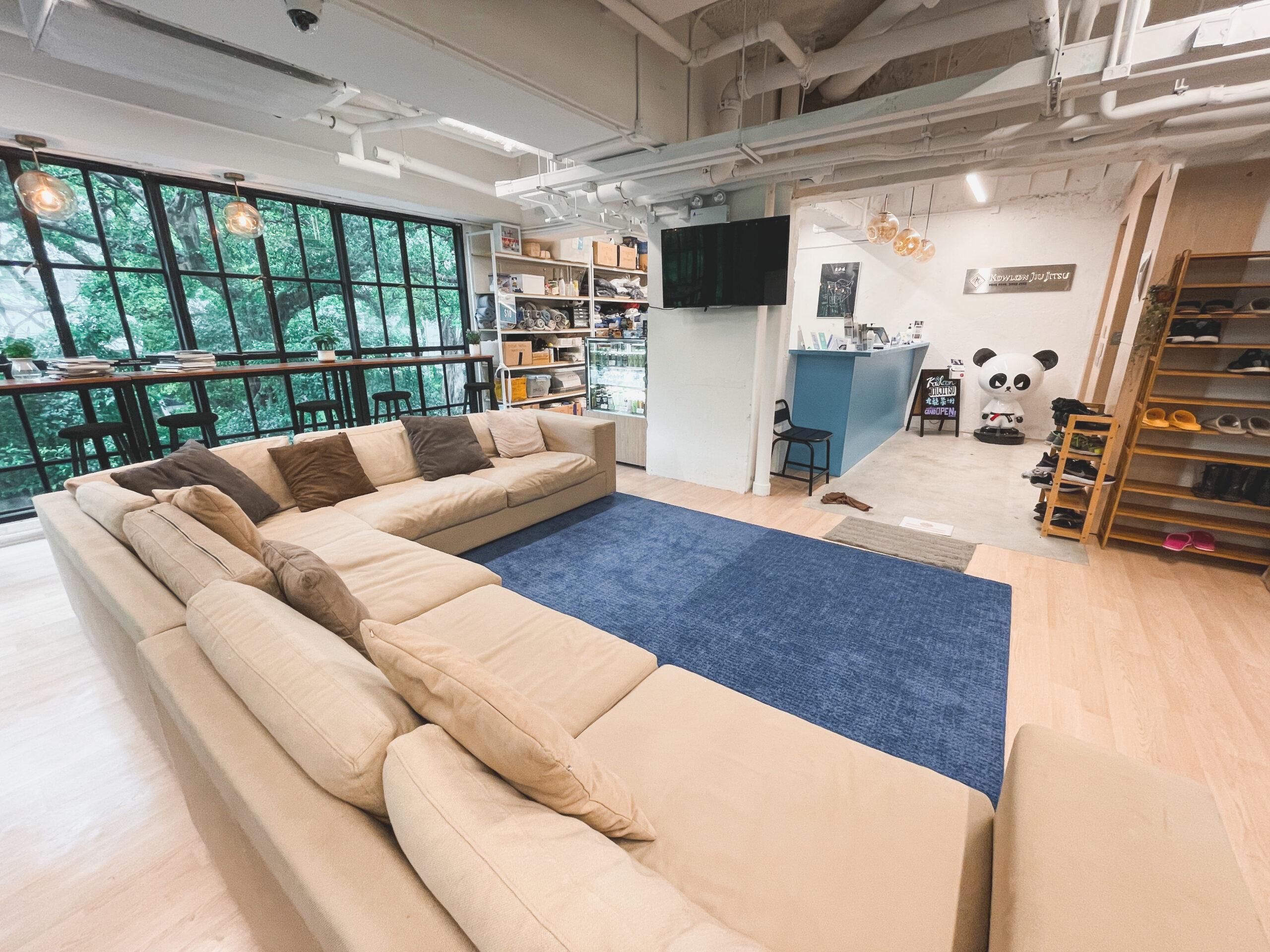 Kowloon Jiu Jitsu Hong Kong - Lounge Area